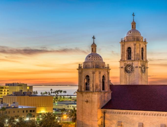 Corpus Christi Cathedral.