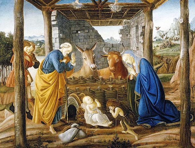 "Sandro Botticelli (1445-1510), ""Nativity"""