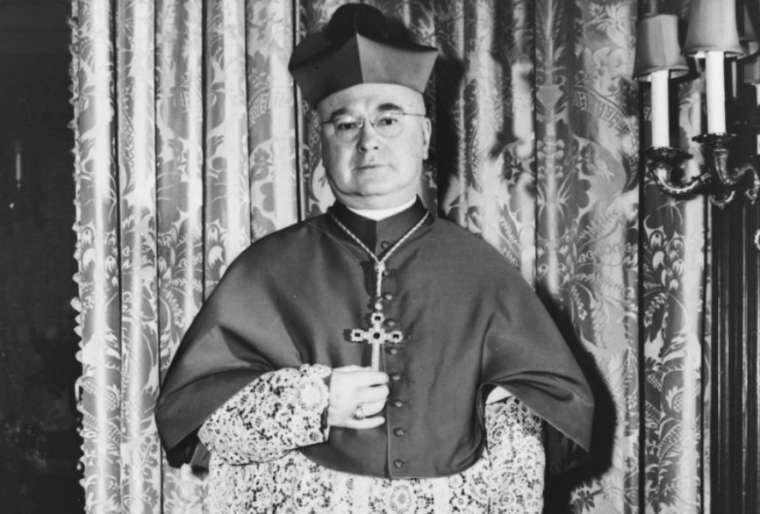 Cardinal Francis Spellman of New York, 1946