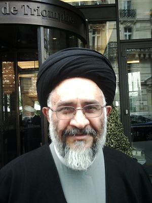 Ayatollah Seyed Mostafa Mohaghegh Ahmadabadi. He sees secularism as more dangerous than Islamic extremism.