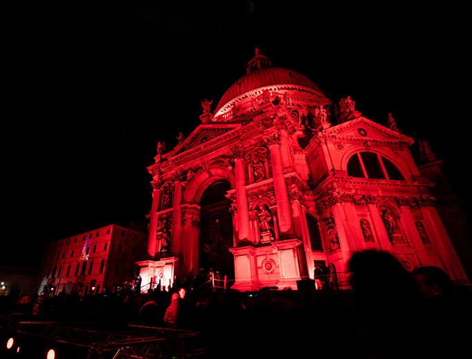 Venice is illuminated red on Nov. 20 in remembrance of Asia Bibi and other persecuted Christians.