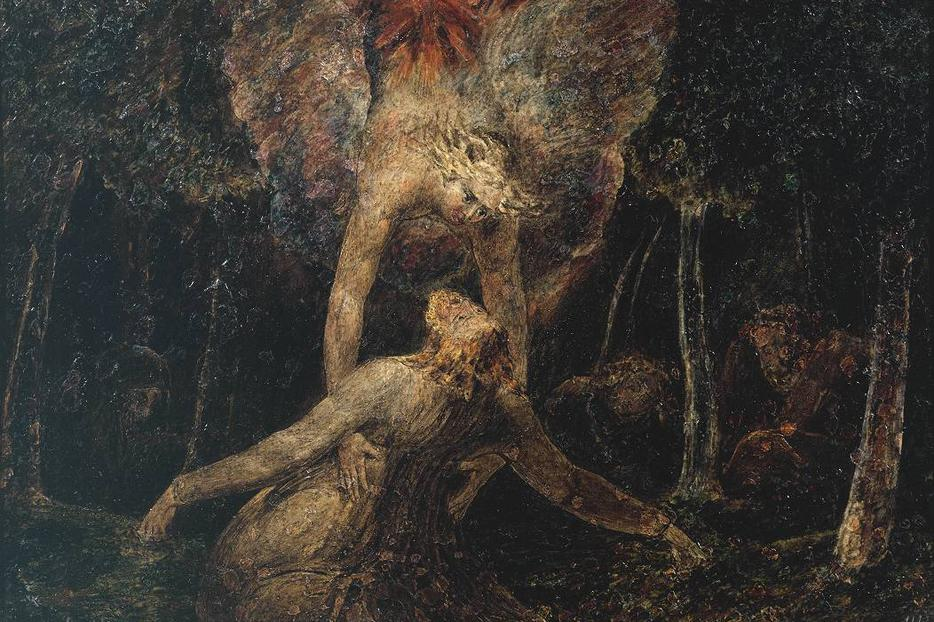 William Blake, Agony in the Garden (1799)