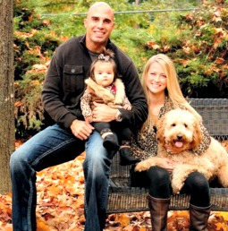 Bruce Gradkowski and family