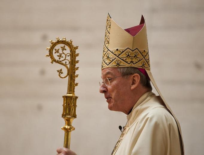 Bishop Declan Lang.