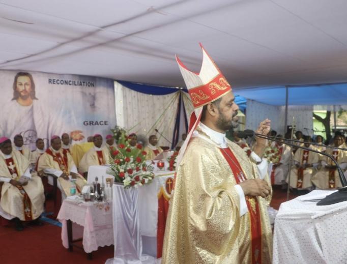 A solemn Mass was held last month in Bhubaneswar.