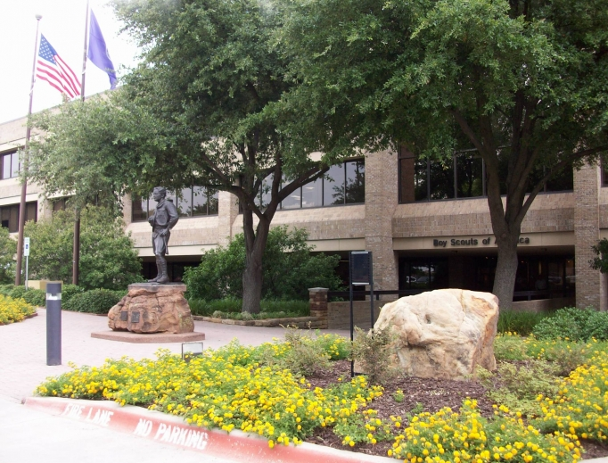 The Boy Scouts of America — its national headquarters is shown in Irving, Texas — filed for Chapter 11 bankruptcy in Delaware on Feb. 18.
