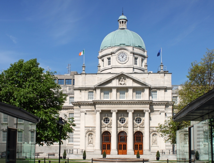 Lower house (the Dáil) of the Irish Parliament