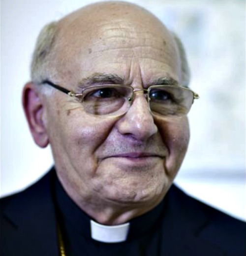 Jean-Clement Jeanbart, the Melkite archbishop of Aleppo, Syria