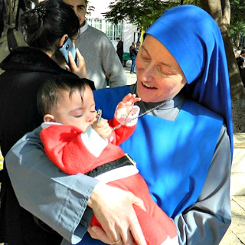 Sister Maria Nazareth of the Institute of the Institute of the Incarnate Word