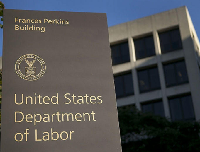United States Department of Labor in Washington, D.C.