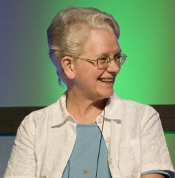 Sister of St. Francis Florence Deacon, outgoing president of the Leadership Conference of Women Religious.