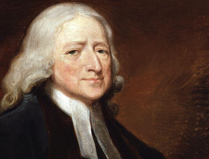 """George Romney (1734-1802), """"John Wesley"""""""