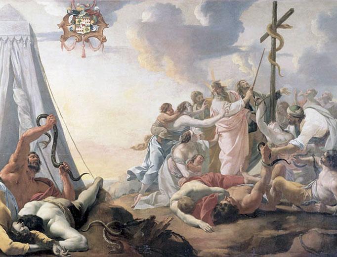"""Aubin Vouet (1595–1641), """"The Bronze Serpent"""""""