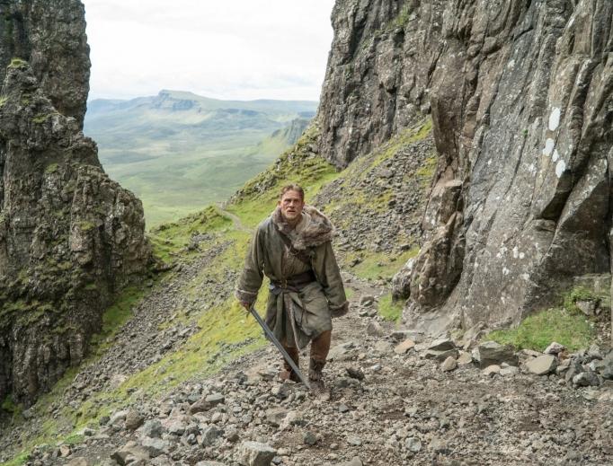 Charlie Hunnam as King Arthur.