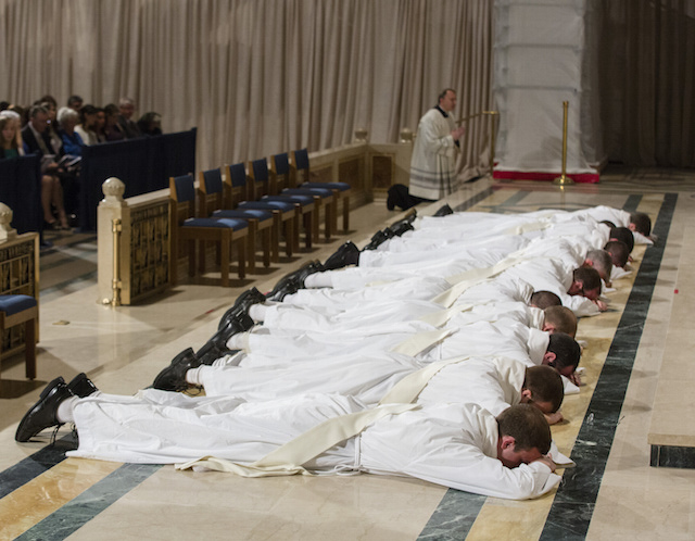 Ordination of class of 2016 for the Dominican Province of St. Joseph (http://vocations.opeast.org/) at the Basilica of the National Shrine of the Immaculate Conception
