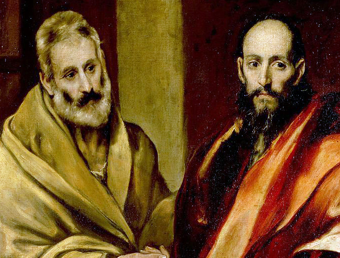 "El Greco (1541-1614), ""Saint Peter and Saint Paul"""