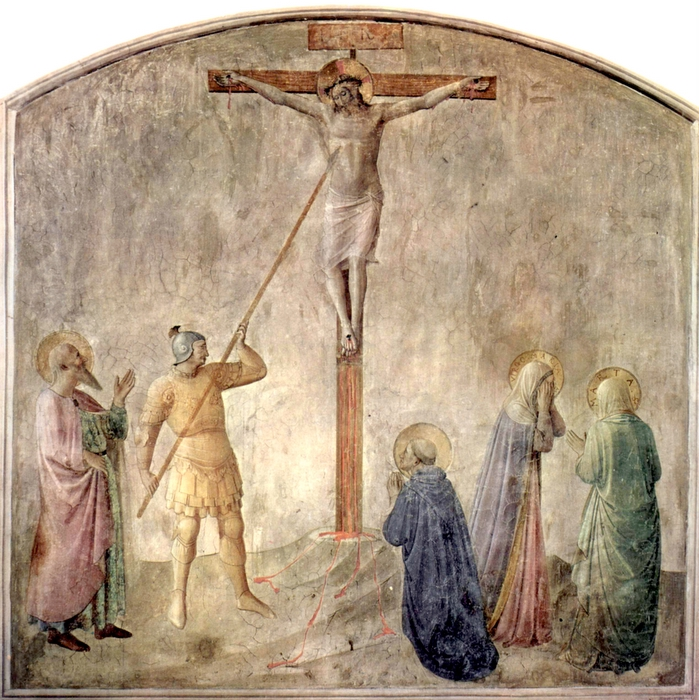 Fra Angelico, Piercing of Christ's Side