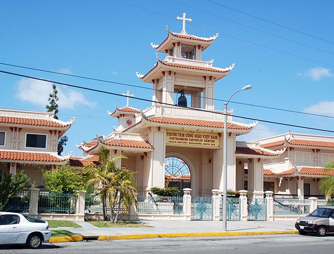 The Vietnamese Center in Santa Ana, California