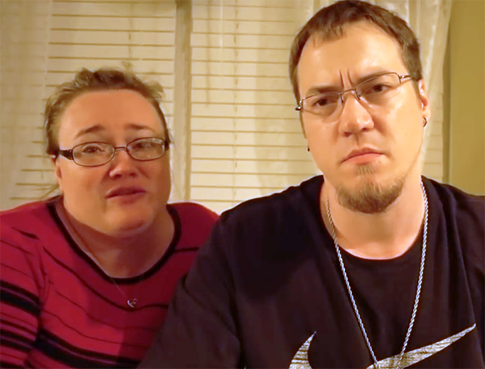 Heather and Mike Martin of DaddyOFive