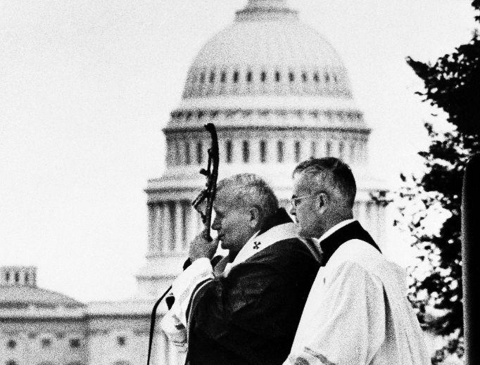 Pope John Paul II in 1979.