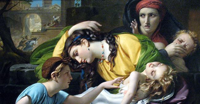 "François-Joseph Navez (1787-1869), ""Massacre of the Innocents"""
