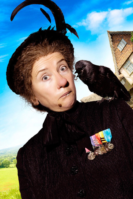 SUPER NANNY. Nanny (Emma Thompson) and her magical wit are back in Nanny McPhee Returns.