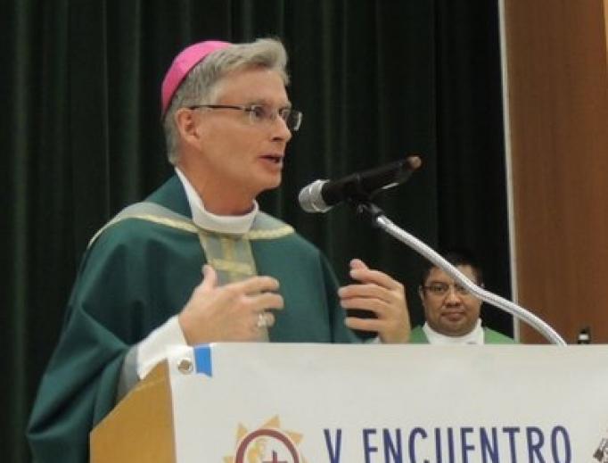 Bishop Thomas Daly.