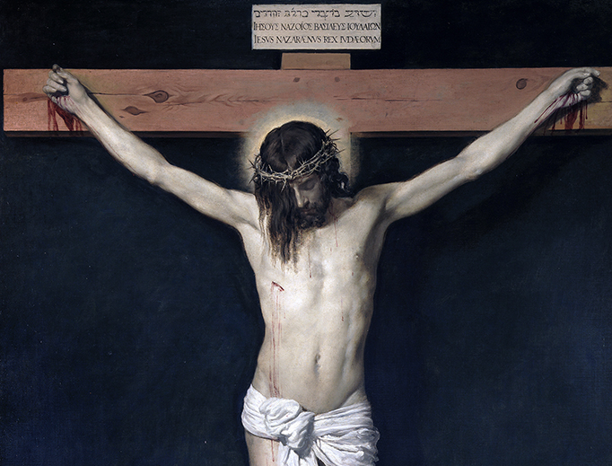 "Diego Velázquez, ""Christ Crucified"", c. 1632"