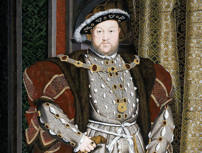 "Hans Holbein the Younger, ""Portrait of Henry VIII"", 1537-1547"