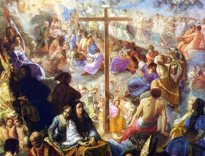 Adam Elsheimer, 'Glorification of the Cross', ca. 1600