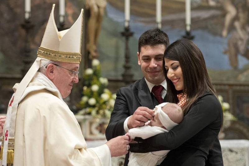 Pope Francis recently baptized a baby whose parents may not be married in the eyes of the Church. What should we make of this?