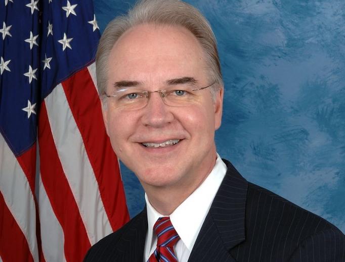 HHS Secretary-designate Tom Price