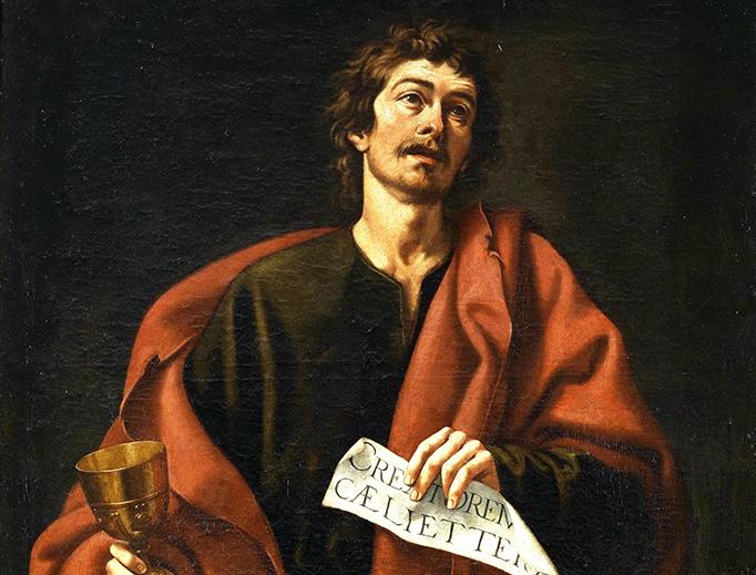 "Cristóbal García Salmerón, ""St. John the Evangelist"""