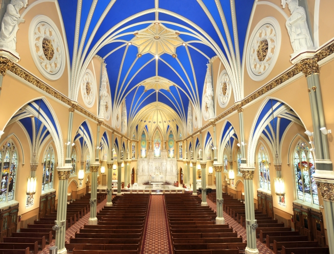 St. Alphonsus Church in Chicago.