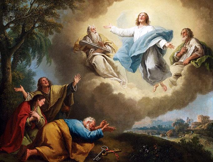 "Francesco Zuccarelli, ""The Transfiguration of Christ"", c. 1788"