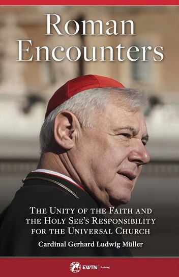 Book cover of Rome Encounters by Cardinal Gerhard Müller