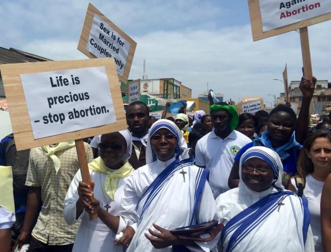 Pro-life witness in Uganda