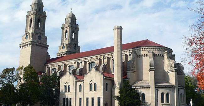 St. Cecilia Cathedral in Omaha, Nebraska.