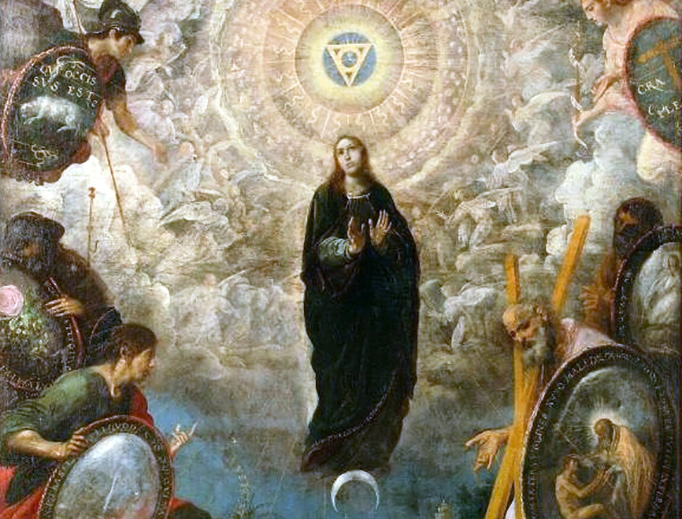 """Juan de las Roelas (ca. 1570–1625), """"Alegoría de la Virgen Inmaculada"""""""