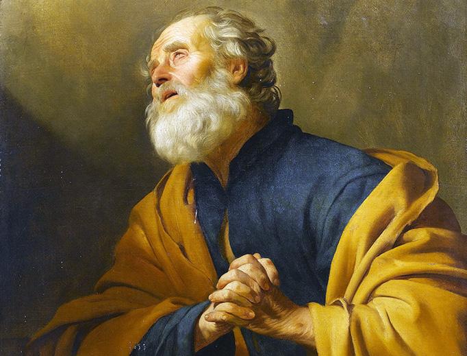 "Gerard van Honthorst (1592–1656), ""Saint Peter Penitent"""