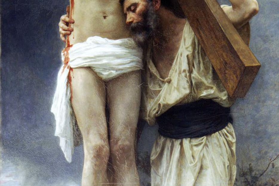 "William-Adolphe Bouguereau (1825–1905), ""Compassion"""