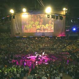 Upwards of 20,000 young people attend the National Catholic Youth Conference every year.