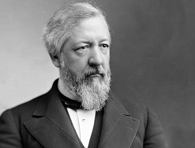 James G. Blaine in the 1870s