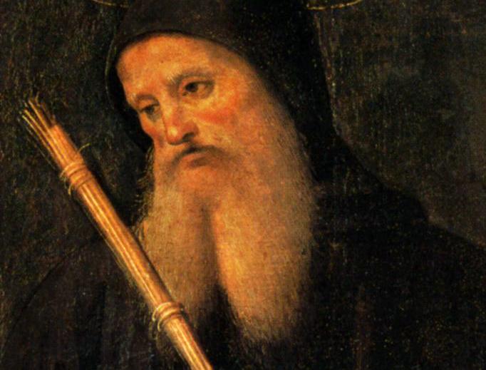 """Pietro Perugino, """"Polittico di San Pietro (San Benedetto)"""", c. 1498"""