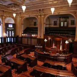 Illinois State Senate Chamber