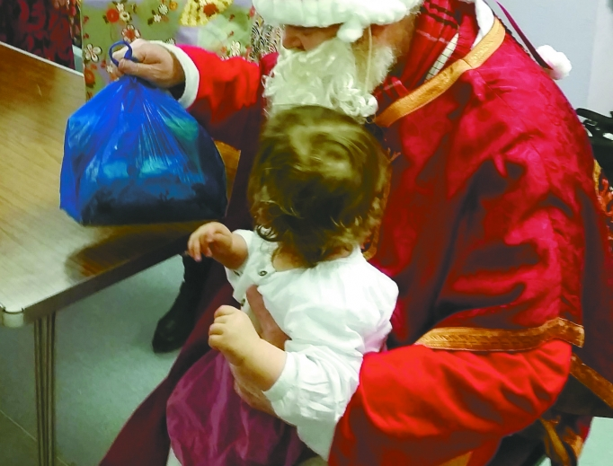 A Christmas party for babies celebrates the dignity of human life and the help their mothers have received from Good Counsel Network.