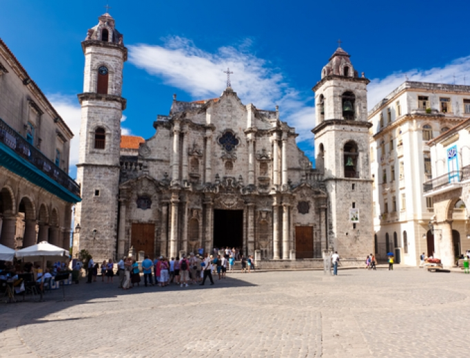 The Cathedral of Havana.