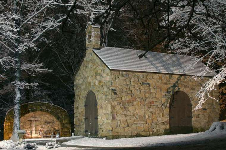 The Portiuncula Chapel on the campus of the Franciscan University of Steubenville