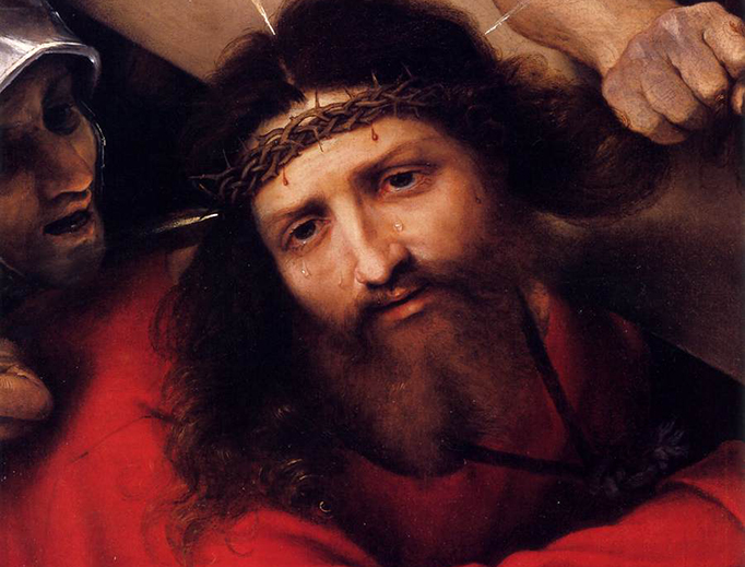 "Lorenzo Lotto, ""Christ Carrying the Cross,"" 1526"