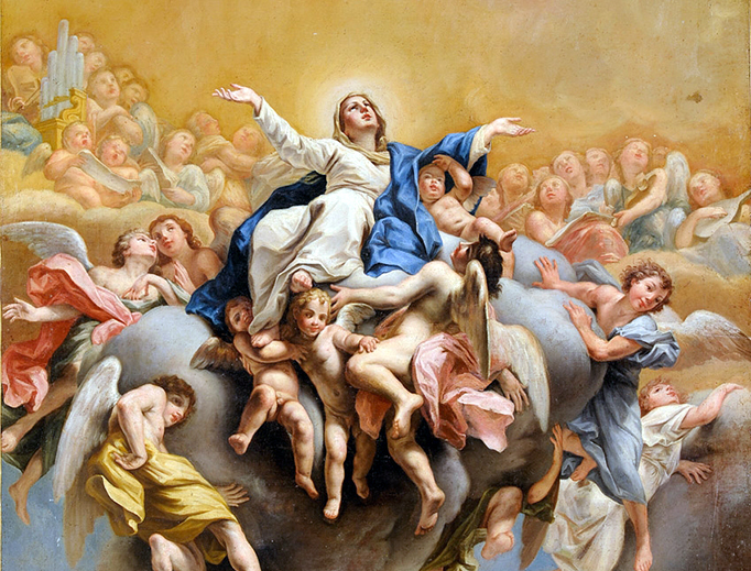 "Mariano Salvador Maella (1739–1819), ""The Assumption of Mary"""